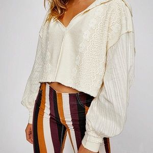 Free People Lacey Pullover
